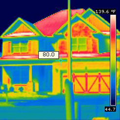 Tri state foam infrared insulation inspection